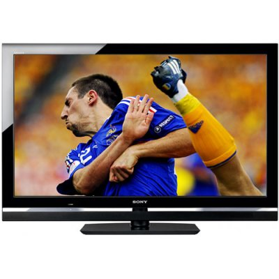 sony bravia kdl lcd tv display