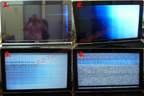 - This LCD TV Display Problem Cant Be Repair
